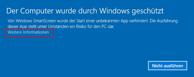 SmartScreen Filter Windows 10